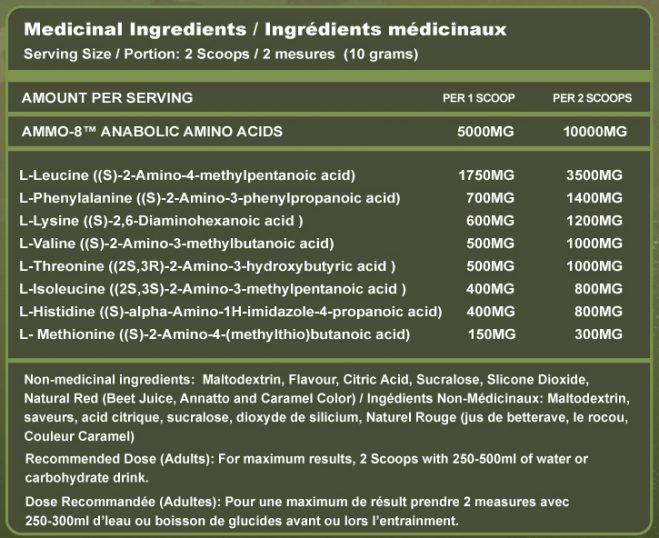 essential amino acids supplement