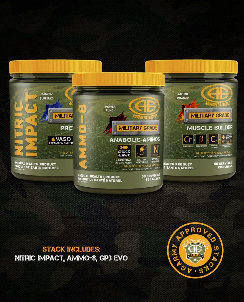 Nitrous Stack Tokkyo Nutrition: Wage War Stack