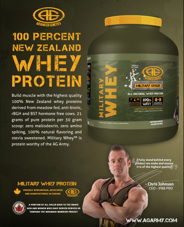New Zealand Whey Protein Powder