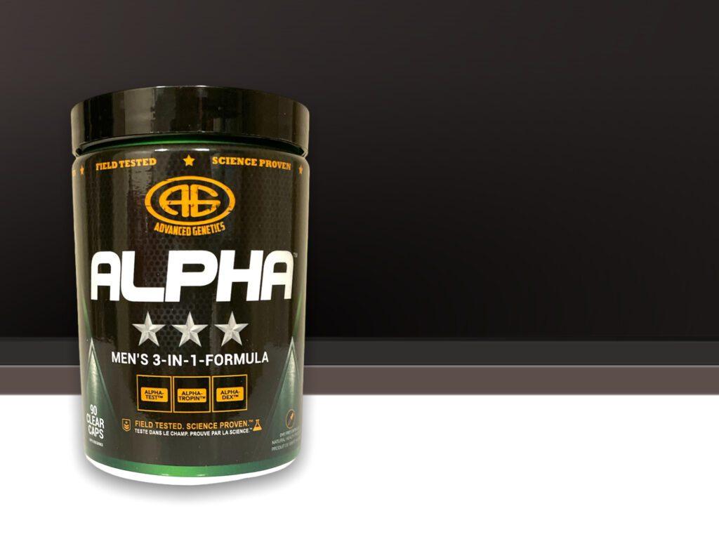 alpha testosterone booster