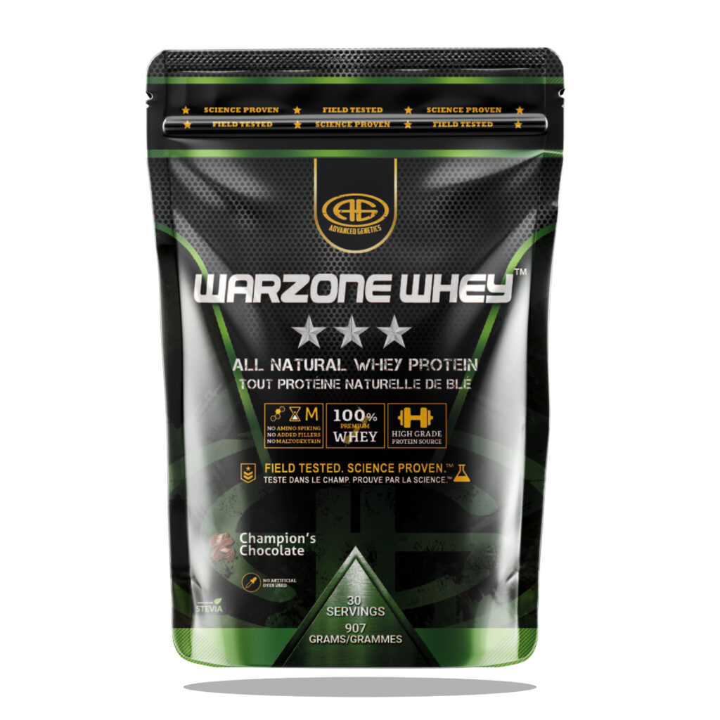 Warzone Whey chocolate