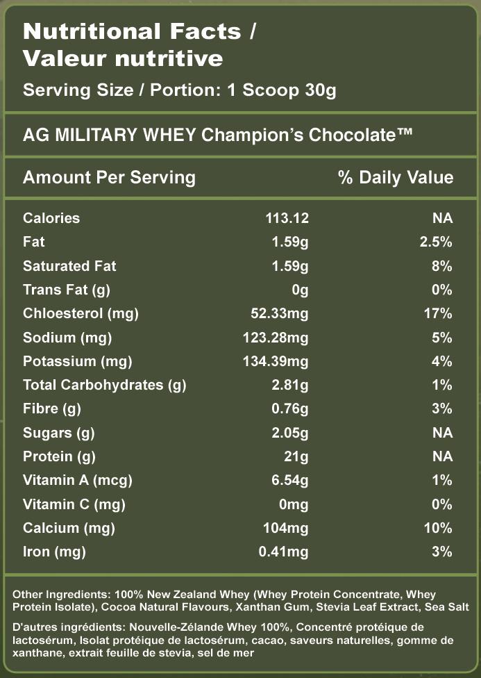 New Zealand Whey Protein Powder