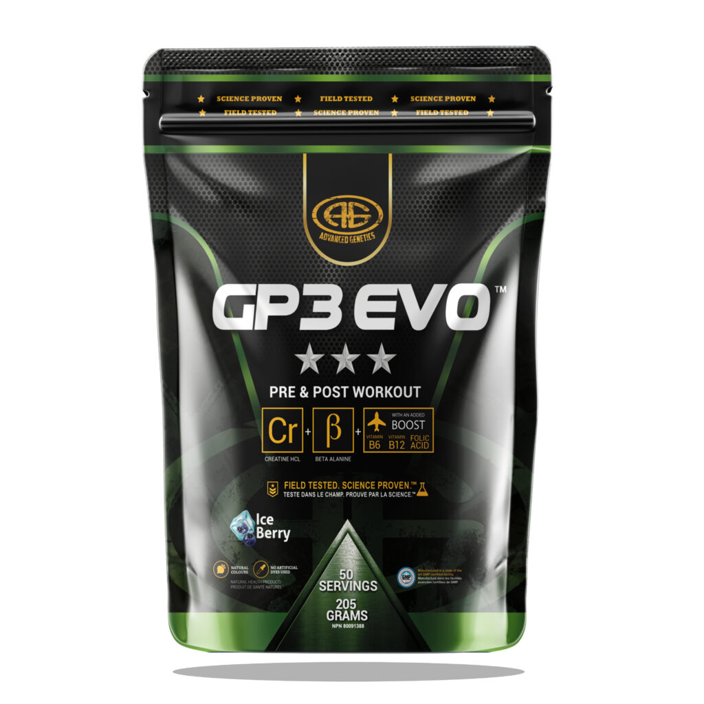GP3 EVO berry